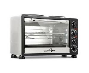 AUS FREE DEL-34L Benchtop Convection Oven with Twin Hot Plate Sydney City Inner Sydney Preview