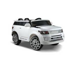Land Rover Discovery Replica Kids Ride On Car - White Greenacre Bankstown Area Preview