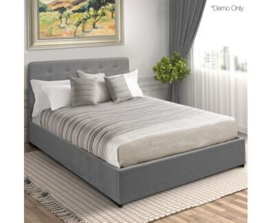Beautiful Gas Lift Storage Bed Frame - Double includes delivery  sc 1 st  Gumtree & mattress pad for slatted base mattress pad in Liverpool Area NSW ...