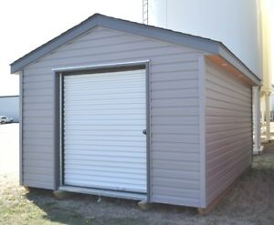 12' x 16' Gable Shed with Roll Up Door