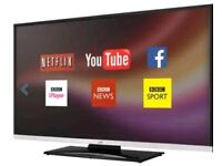 "JVC 40""FULL HD SMART WIFI LED TV (free delivery)"