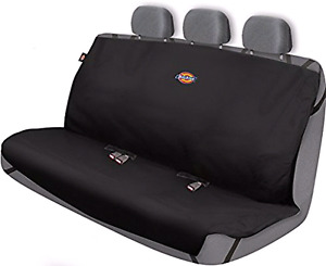 Truck back seat bench cover