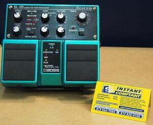 P??dale d???arrangement audio Boss SL-20