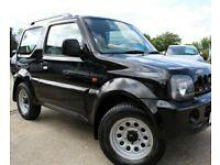Black 4x4 Jimny Suzuki 12 month MOT