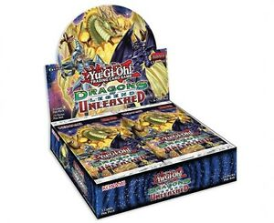 Yu-Gi-Oh Dragons of Legend Unleashed Booster Box Now Available