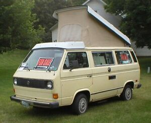 Looking for a 1970s to 1980s camper van/Westfalia/vanagon