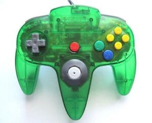 selling green n64 controller