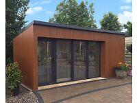 Sheds, Summerhouses, Garages, Workshops, Greenhouses, office studios, chalets.