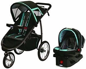 Brand new stroller never used Graco Jogger full zystem