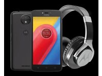 Brand new mobile phone. Motorola Moto C Plus Pulse Max. Brand new and factory sealed.