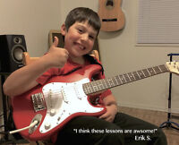 Premier Beginner Guitar Lessons for Children In Richmond Hill