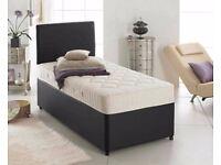 LIMITED STOCK- ''Best Offer'' -- Memory Foam SINGLE DIVAN Bed -- Get It Now-- Order Now