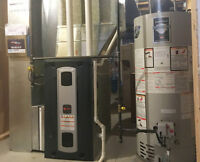 Furnace & heating equipment repair no overtime charge