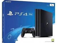 PlayStation 4 pro 1tb with 3months PlayStation network