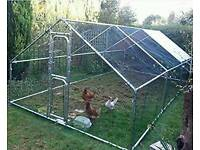 Chicken run/cage 6mx3mx2m Feelgood cage01 Monster