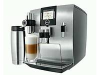 Jura impressa J9.4 aroma+ cappuccino bean to cup coffee machine.