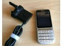Nokia C3-01 (Touch Screen) - Silver (EE)