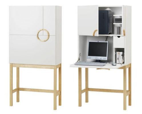 IKEA Cyril Desk Computer Cabinet Bureau Part 55