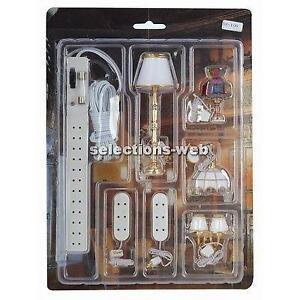 doll house wiring kits 4 10 kenmo lp de \u2022dolls house lights ebay rh ebay co uk dollhouse electrical wiring dolls house wiring diagram