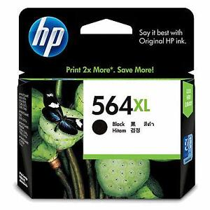 HP 564XL Genuine 564 Black ink High Yield 550 pages B210a B110a B109a