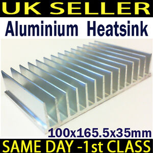 Large Aluminium Heat Sink Power Amplifier/ Power Supply/ Transistor/IC/FET/PA