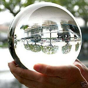 HOT SELL HUGE ASIAN QUARTZ CLEAR CRYSTAL BALL SPHERE 110MM STAND