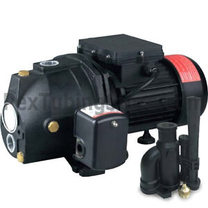 3/4 HP Convertible Shallow or Deep Well Jet Pump w/ Pressure Switch,Dual Voltage