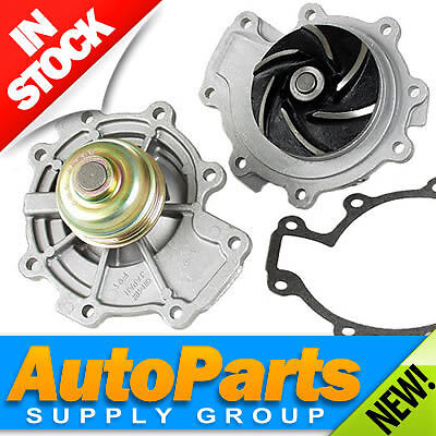 ALL NEW Water Pump w Gasket  Pulley  No CoreOEM QualityFAST Ship 25 30 V6