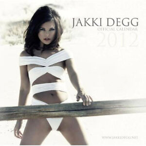 2012 Official Jakki Degg 12 Month Wall Calendar Sexy Pinup Girl Page 3 Model