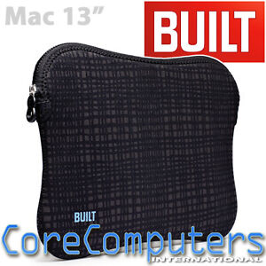 BUILT-NY-Neoprene-Sleeve-for-13-MacBook-Air-Pro-in-Graphite-Grid-A-LS13-GGD