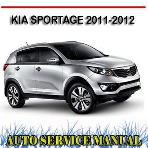 kia sportage 2011 2012 service repair manual dvd ebay Kia Ceed 2018 manual service kia ceed