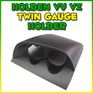 SAAS HOLDEN VY VZ TWIN DASH GAUGE POD HOLDER COMMODORE SS SV6 HSV CLUBSPORT