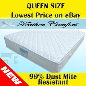Queen-Quality-Latex-Pillow-Top-Pocket-Spring-Mattress