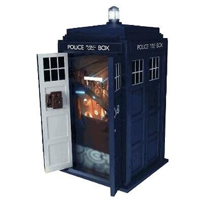 New dr doctor who tardis talking money bank box with sfx piggy bank ebay - Tardis piggy bank ...