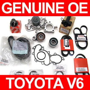 Complete TIMING BELT KIT & WATER PUMP  Genuine & OE Manufacture Parts!  3.4 V6