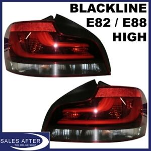 Original-BMW-1er-E82-Coupe-E88-Cabrio-Heckleuchten-Ruckleuchten-Blackline-HIGH