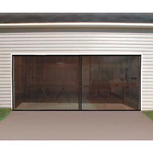 Double-Garage-Door-Screen-Door-New