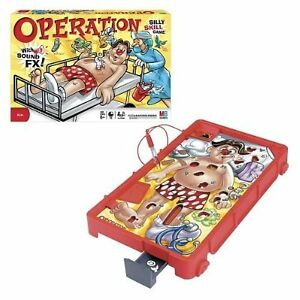 Board Game - MB - Operation Silly Skill Game with sounds