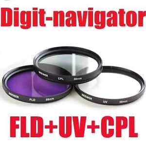 67mm FLD + UV filter + Circular Polarizing Filter for Nikon D90 D7000 18-105mm