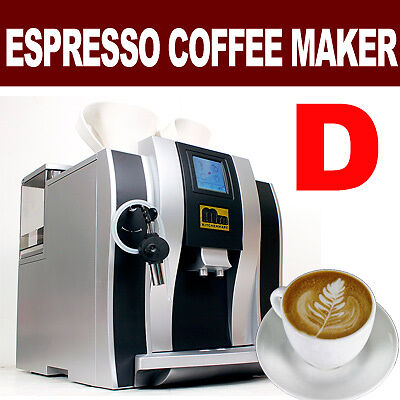 New 2012 MTN Fully Automatic Commercial Espresso Latte Coffee Machine Maker D