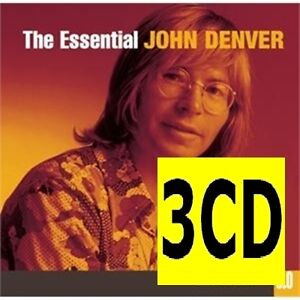 JOHN-DENVER-The-Essential-3-0-3CD-TRIPLE-Best-Of-NEW