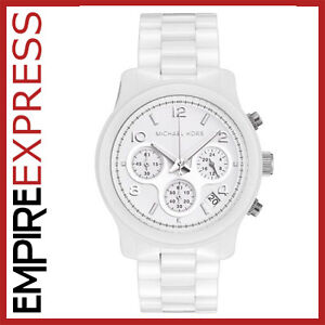 BRAND-NEW-LADIES-MICHAEL-KORS-CERAMIC-CRYSTAL-WATCH-MK5161-RRP-359