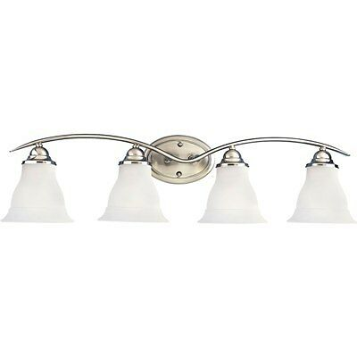 Bathroom Vanity Lighting Fixture - Brushed Nickel Finish - Bath Light on Rummage