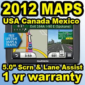 Garmin-Nuvi-2555LMT-5-0-GPS-Navigator-Lifetime-Traffic-Maps-USA-Canada-Mexico