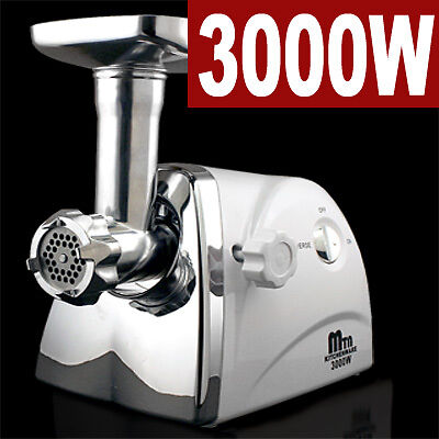 New MTN Kitchenware 3000W/ 3.4HP Compact Electric Meat Grinder