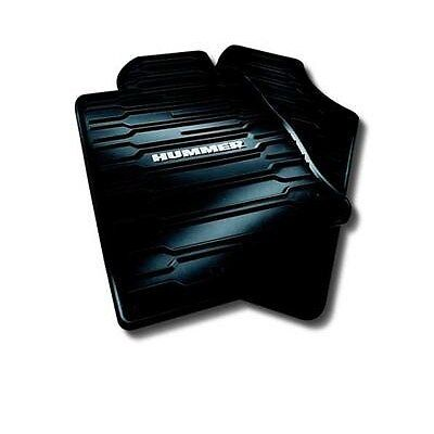 06-10 HUMMER H3 H3T ALL WEATHER FLOOR MATS (BLACK) NEW GM 12498903