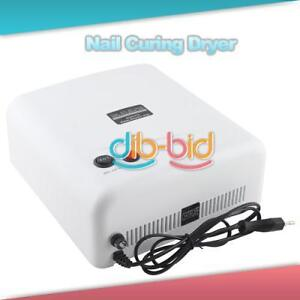 New-36W-220V-Nail-Art-UV-Salon-Gel-Curing-Tube-Light-Dryer-4-X-9W-Lamp-2