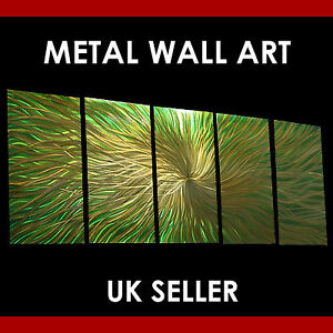METAL WALL ART ABSTRACT CONTEMPORARY SCULPTURE HOME DECOR MODERN PAINTINGS NEW +