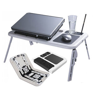 Portable-Laptop-Stand-Foldable-eTable-e-Table-With-2-USB-Cooling-Fans-Notebook