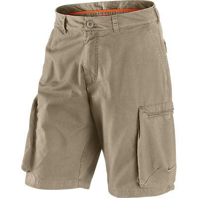 NIKE Men's Cargo Shorts khaki Challenge Waven Short Sides ...